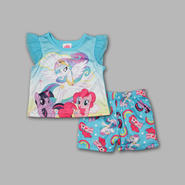 My Little Pony Infant & Toddler Girl's 2 Pc Short Sleeve Pajama Set at Kmart.com