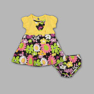 WonderKids Toddler Girl's Layered Look Dress - Floral at Kmart.com