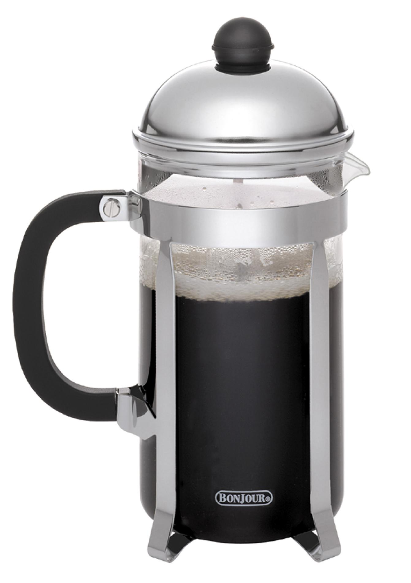 BonJour Coffee 12 Cup French Press in Stainless Steel PartNumber: 00884298000P