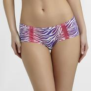Joe Boxer Junior's Hipster Panties - Zebra at Kmart.com