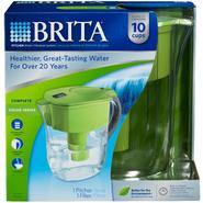 Brita Grand Water Filtration Pitcher, 10 Cups Green at Sears.com