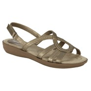 Basic Editions Women's Comfort Sandal Morona - Pewter at Kmart.com