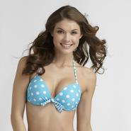Joe Boxer Junior's Push-Up Bikini Top - Polka Dot at Kmart.com