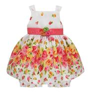 American Princess Infant & Toddler Girl's Floral Ribbon Sleeveless Dress at Sears.com