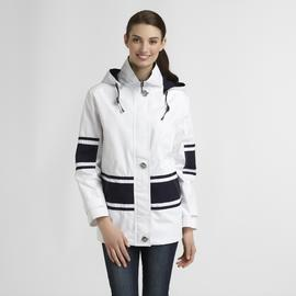 Mackintosh Women's Poplin Nautical Jacket - Striped at Sears.com
