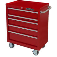 "Extreme Tools 30"" 5 Drawer Standard Roller Cart in Textured Red at Kmart.com"