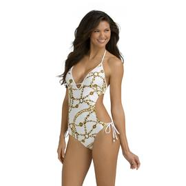 Kardashian Kollection Women's Monokini - Jewelry Print at Sears.com