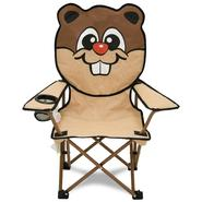 Northwest Territory Kids Animal Head Camping Chair - Brown Beaver at Kmart.com
