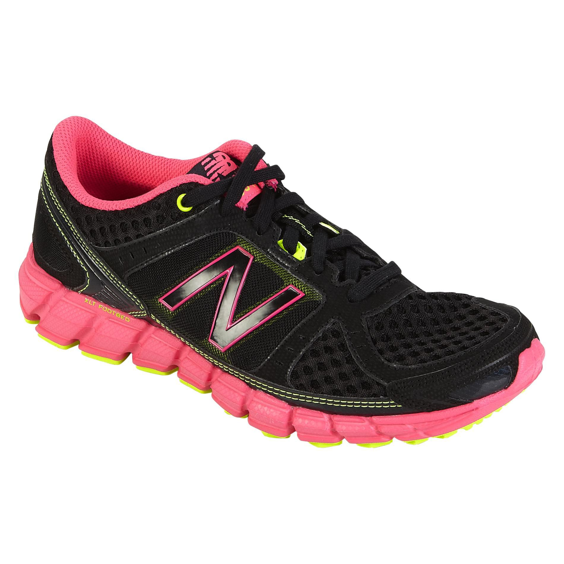Women's 750 Running Athletic Shoe - Black/Pink