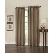 Jaclyn Smith Valerie Blackout Window Panel - Taupe at Kmart.com