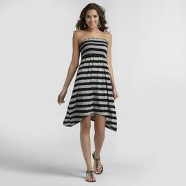 Joe Boxer Women's Smocked Tube Dress - Striped at Sears.com