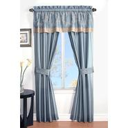 Cannon 5-Piece Curtain Panels, Valance & Tiebacks - Prestige at Kmart.com