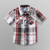 Mission Bay Toddler Boy's Plaid Shirt - Guitar at mygofer.com