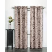 Essential Home Damask Print Microfiber Panel  - Neutral at Kmart.com