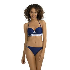 Kardashian Kollection Women's Bandeau Bikini Top - Nautical Stripes at Sears.com