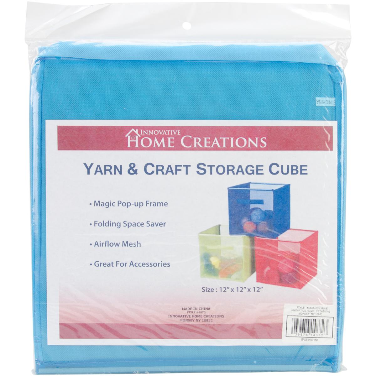 General Product Yarn & Craft Storage Cube Sky Blue