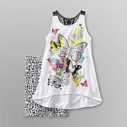 Tempted Girl's Graphic Tank Top & Shorts at Sears.com