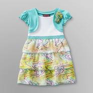 Forever Me Girl's Tiered Chiffon Dress at Sears.com