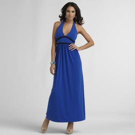 Sofia by Sofia Vergara Women's Halter Maxi Dress at Kmart.com