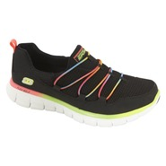 Skechers Women's Athletic Shoe Loving Life - Black Multi at Sears.com