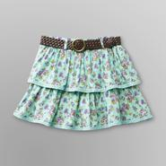 Route 66 Girl's Scooter Skirt & Belt - Floral at Kmart.com