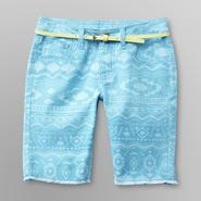 Route 66 Girl's Jean Shorts & Belt - Aztec at Kmart.com