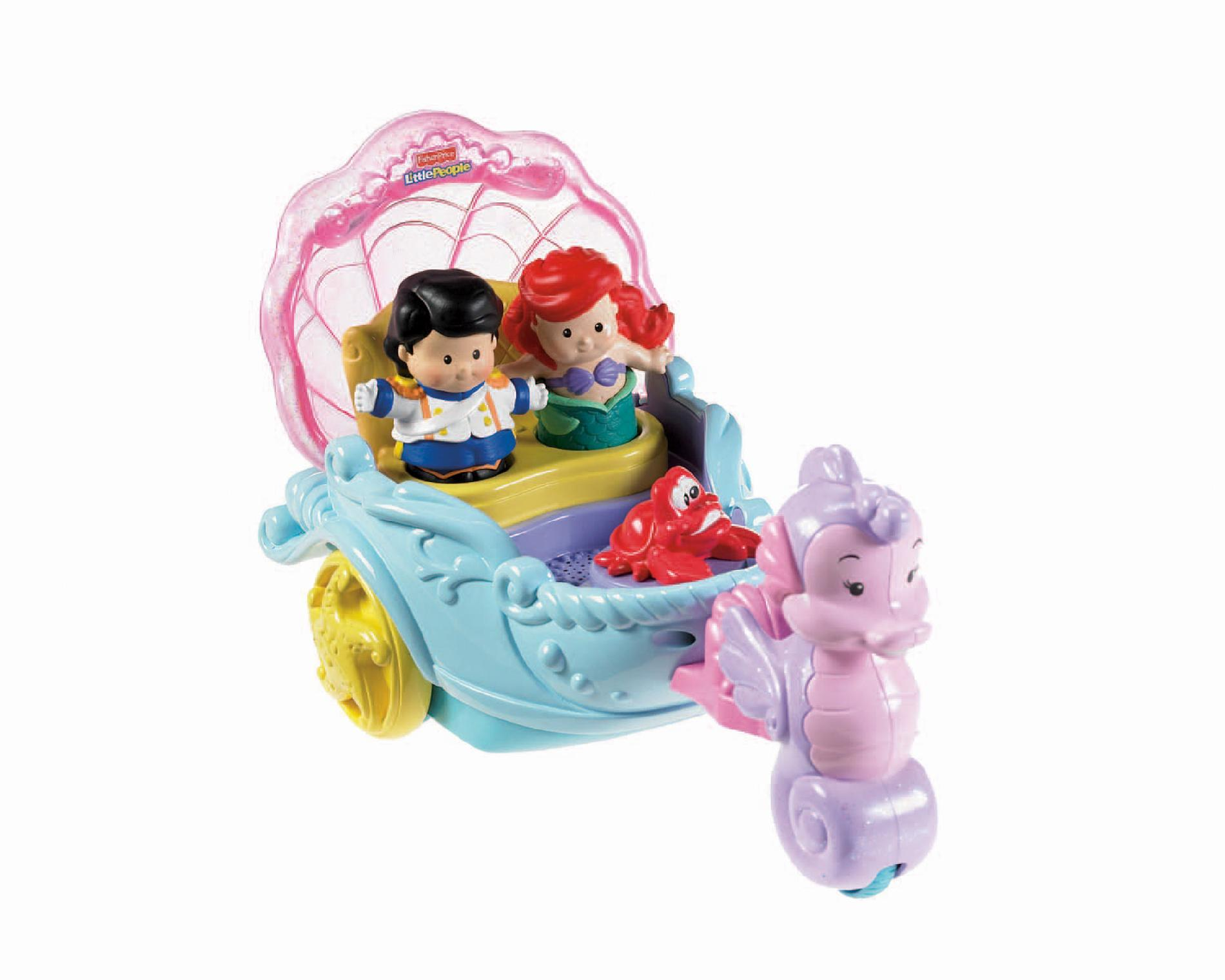 by Fisher Price Princess Vehicle ARIEL'S COACH