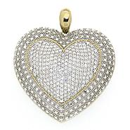 2 Cttw Diamond Heart Pendant at Kmart.com