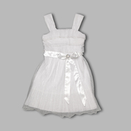 My Michelle Girl's Sleeveless Ruffle Bodice Bow Dress at Sears.com