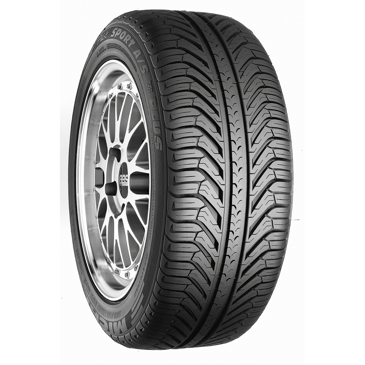 Sporting Goods Stores Michelin Pilot Sport A/S Plus - 225/60R16 98W BW - All Season Tire 225-60-16
