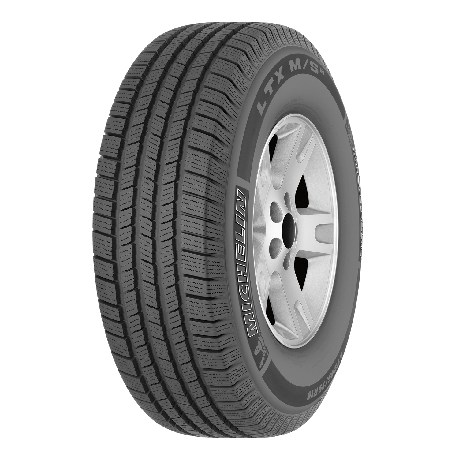 Michelin LTX M/S2 - P265/70R17 113T RWL - All Season Tire 265-70-17