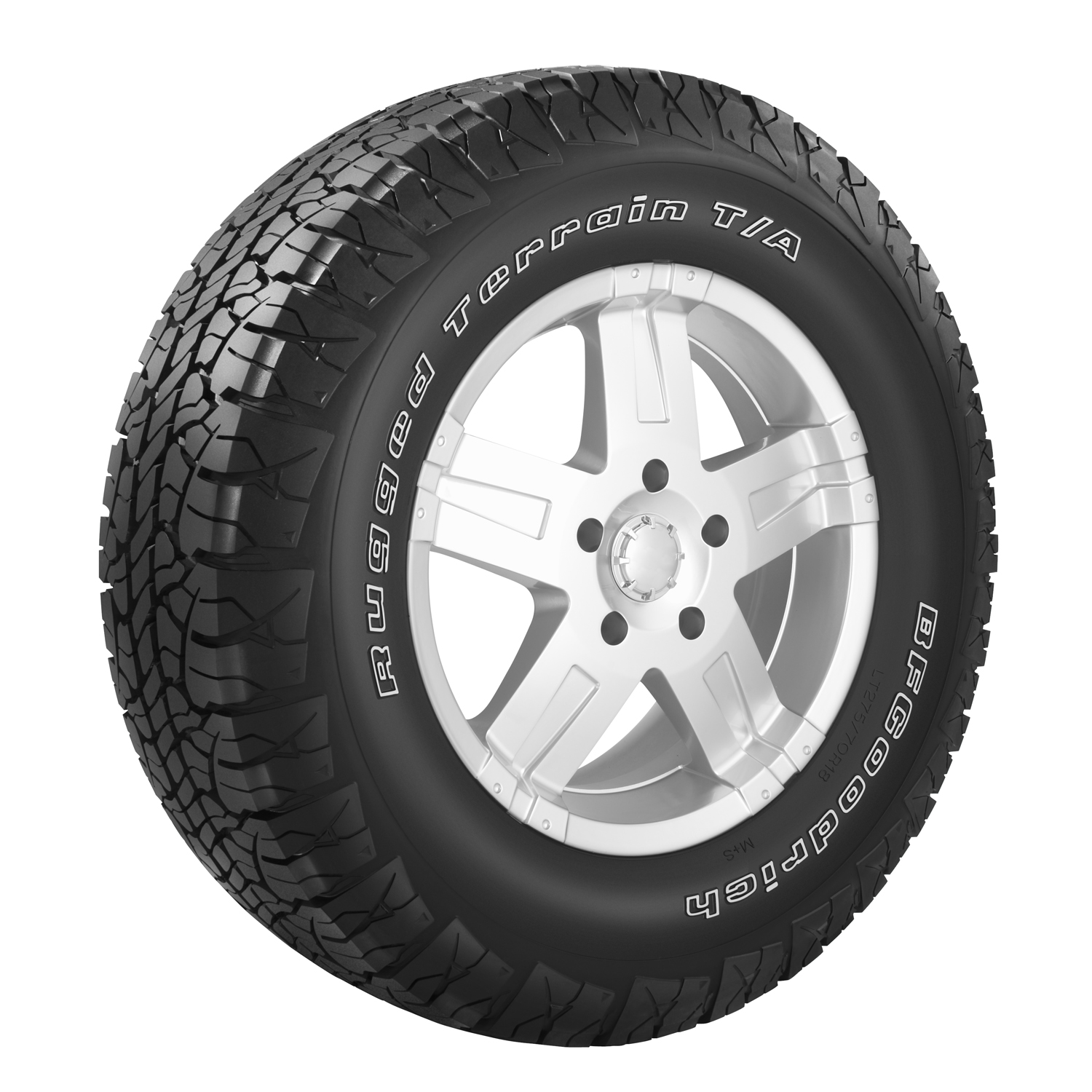 BFGoodrich Rugged Terrain T/A - P265/70R15 110T OWL - All Season Tire 265-70-15