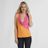 Sofia by Sofia Vergara Women's Chiffon Blouse – Colorblock at Kmart.com