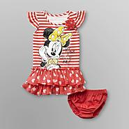 Disney Baby Minnie Mouse Infant & Toddler Girl's Striped Dress at Kmart.com