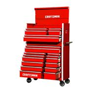 Craftsman 42-Inch 20-Drawer Vintage Tool Storage Combo  Red at Craftsman.com