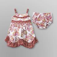 Route 66 Infant Girl's Sundress & Diaper Cover - Butterflies at Kmart.com