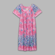 Granada Women's Short Sleeve Floral Night Dress at Sears.com