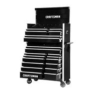 Craftsman 42-Inch 20-Drawer Vintage Tool Storage Combo  Black at Craftsman.com
