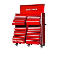 Craftsman 54-Inch 22-Drawer Vintage Tool Storage Combo  Red at Craftsman.com