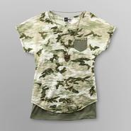 Knitworks Girl's Burnout Top, Cami & Necklace - Camouflage at Sears.com