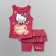 Hello Kitty Girl's Tank Top & Shorts - Polka Dot at Sears.com