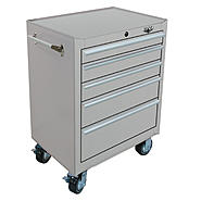 "Viper Tool Storage 26"" 5 Drawer 18G Stainless Steel Rolling Cabinet at Sears.com"