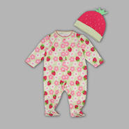 Small Wonders Newborn Girl's 'Rumba' Sleeper – Strawberries at Kmart.com