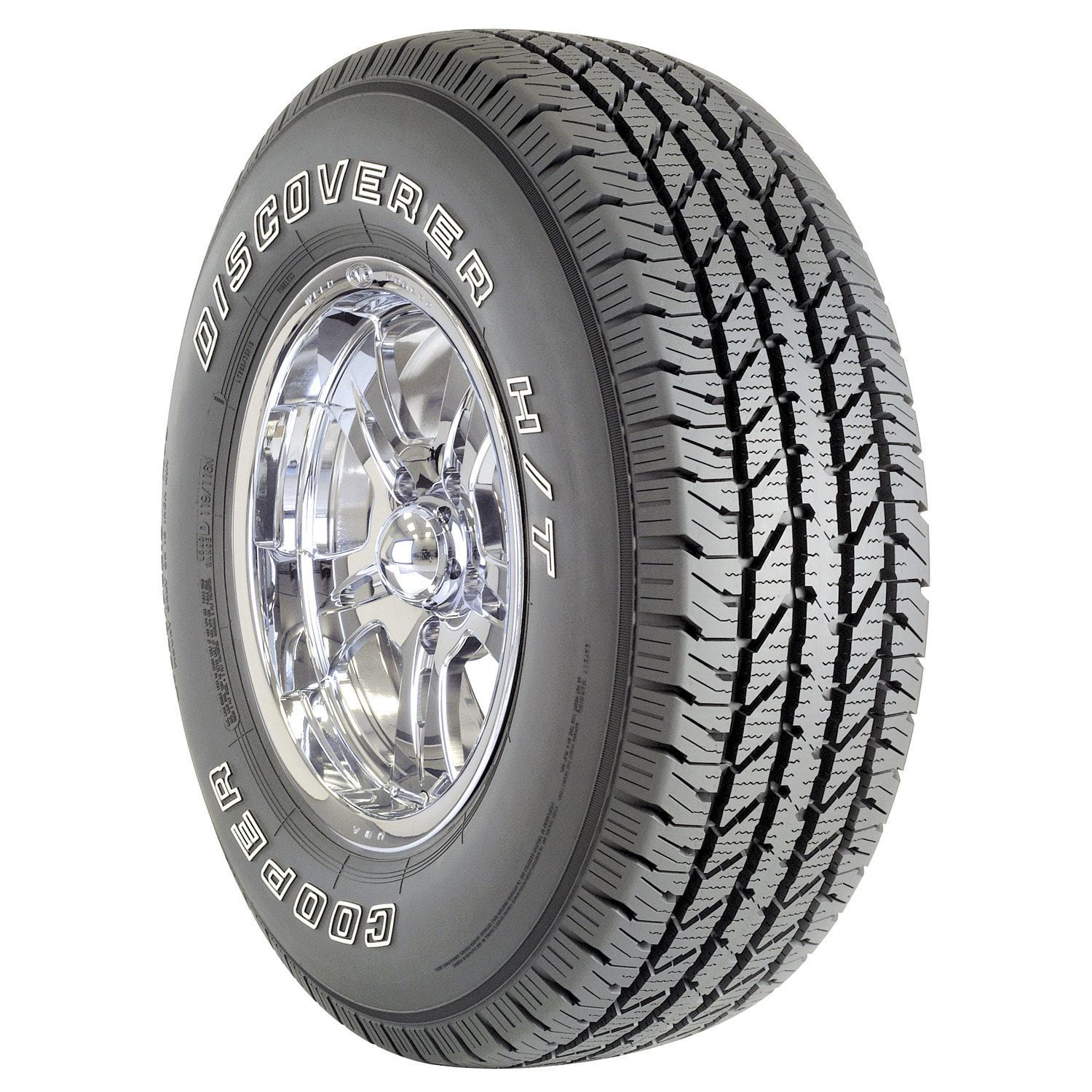 Cooper Discoverer HT - LT265/70R17E 121R OWL - All Season Tire 265-70-17