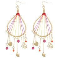 Dream Out Loud by Selena Gomez Juniors' Ombre Thread Charm Drop Earrings at Kmart.com
