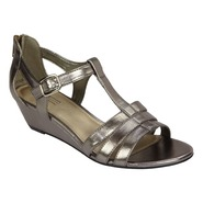 Laura Scott Women's Sandal - Linda - Pewter at Sears.com