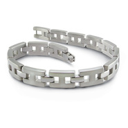 Sti by Spectore Titanium Polished H-Link Bracelet at Kmart.com
