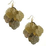 Attention Women's Leaf Earrings at Kmart.com