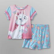 Disney Baby Aristocats Infant & Toddler Girl's Pajama Shorts Set - Marie at Kmart.com