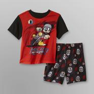 Disney Baby Mickey Mouse Infant & Toddler Boy's Pajamas - Motor Sports at Kmart.com